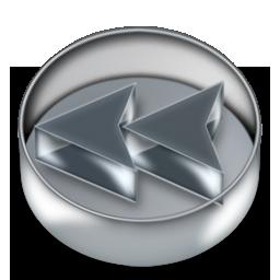 boutons player retour 3D