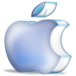 apple blue 3D