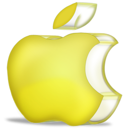 apple yellow 3D