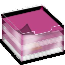 bloc notes 3D