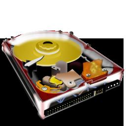 disque dur 3d