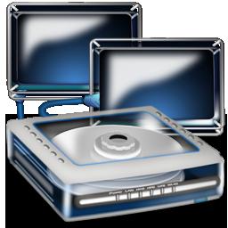 disque dur partage 3D