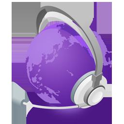 mWorld purple
