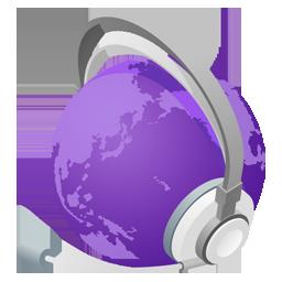 mWorld purple normal