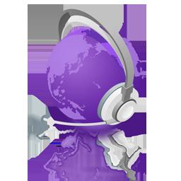 mWorld purple reflect