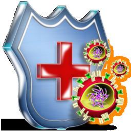 bouclier anti virus 3D