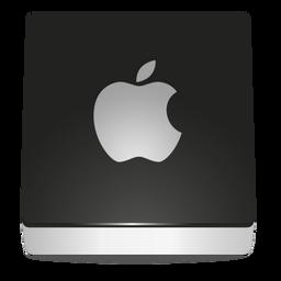 metalic snow disc apple white