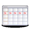 stock calendar and tasks