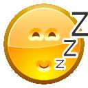 face asleep