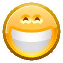 face grin