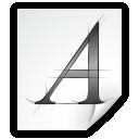 application x font linux psf