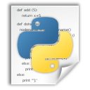 application x python