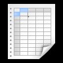 x office spreadsheet