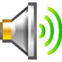 audio volume high newschool