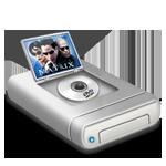 DVD movies drive  dark