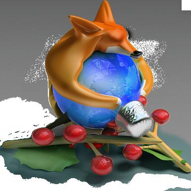 Firefox Christmas