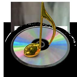 cd music gold