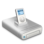 iPod  music drive  dark