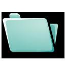 folder cyan
