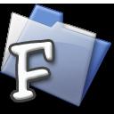 F folder glaze f