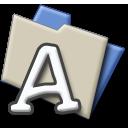 A folder nila f