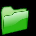 Closed Folder green