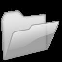 Open Folder grey