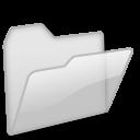 Open Folder light grey