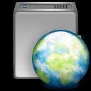 iDisk globe