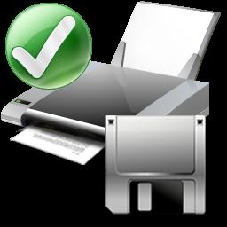 Default printer floppy