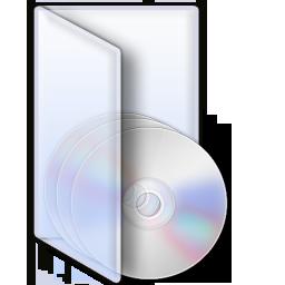 VistaDiscs Glass folder