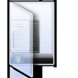 VistaStart Glass folder